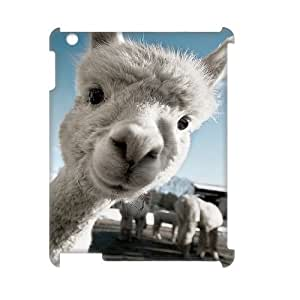 Custom Llama 3D Cover Case for iPad 2,iPad 3,iPad 4, Custom Llama 3D iPad 2 Phone Case, Custom Llama 3D Ipad 3,4 Cell Phone Case