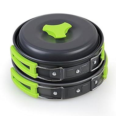 Innoo Tech Camp Cookware Set (11 Piece)