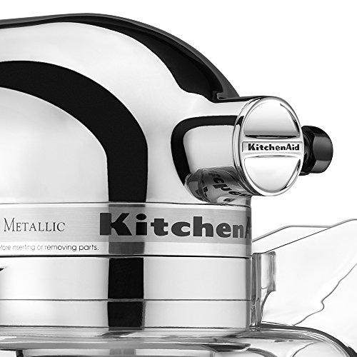 KitchenAid KSM152PSCR Custom Metallic Tilt-Head Stand Mixer Chrome