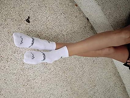 Tiglami Negro Tattoo - Calcetines Blancos y negros - Calcetines ...