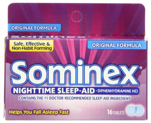 Sominex Original Formula Tablets, 16 Count by Sominex