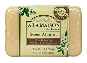 A la maison solid bar soap sweet almond 8 8 for A la maison soap