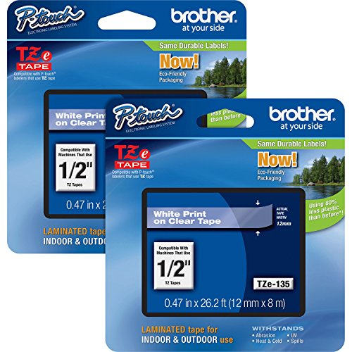 Brother Laminate Color Label (TZE135BD)