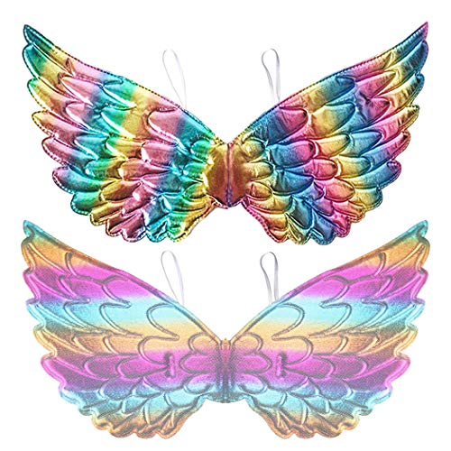 Angel Costume For Toddler Girl (D.Q.Z Kids Fairy Butterfly-Wings Costume for Toddlers Girls Halloween Angel Dress Up)