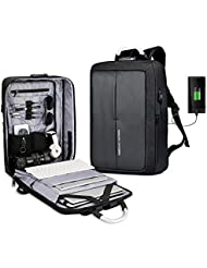 GUANKE Laptop Backpack with USB Charging Port School Travel Business Anti-theft Cosmo Series Water Resistant Lightweight...