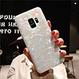 9Guu Glitter Dream Shell Pattern Case for Galaxy S9 S8 S8 Plus TPU Silicon Phone Cover for Galaxy S9 Plus Soft Cover (Color, Galaxy S9 Plus)