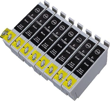 8 Multipack de alta capacidad Epson T0715 , T0895 Cartuchos ...