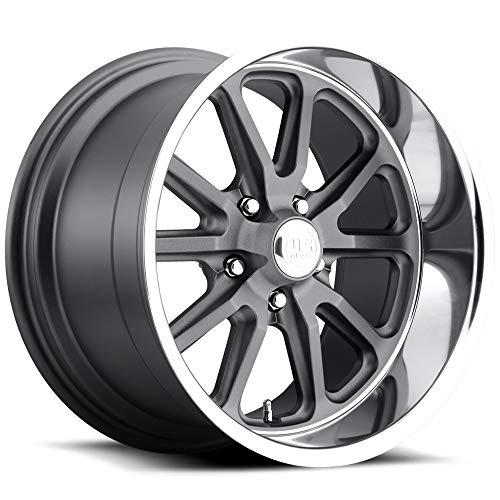 - US Mags U111 Rambler 17x8 5x114.3 +1mm Gunmetal Wheel Rim