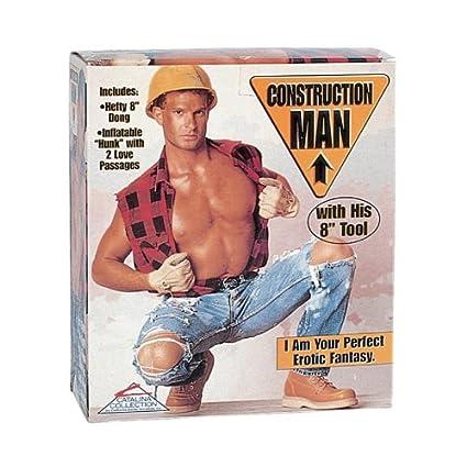ZBF 6700001075 Construction Man - Muñeco hinchable: Amazon ...