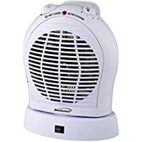 BRENTWOOD 2-IN-1 HEATER/FAN WHITE