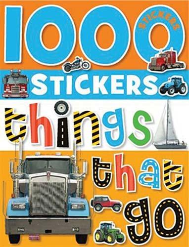 Download 1000 Stickers: Things That Go pdf epub