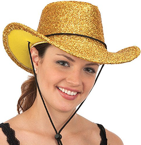 Jacobson Hat Company Gold Tinsel Cowboy Hat