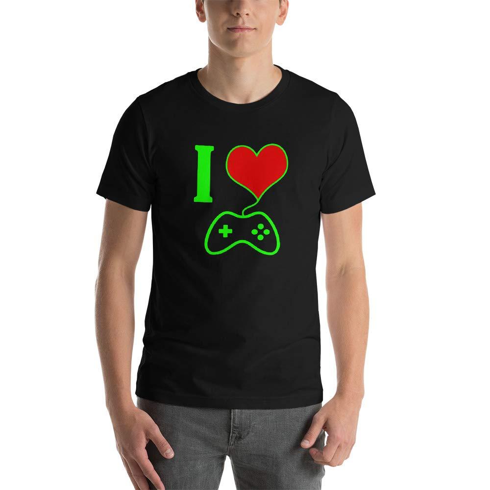 Asmarica I Love Games Unisex T-Shirt