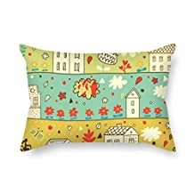 The Flower Cushion Cases Of 20 X 26 Inches / 50 By 65 Cm Decoration Gift For Bf Seat Boys Gril Friend Teens Girls Christmas (each Side)