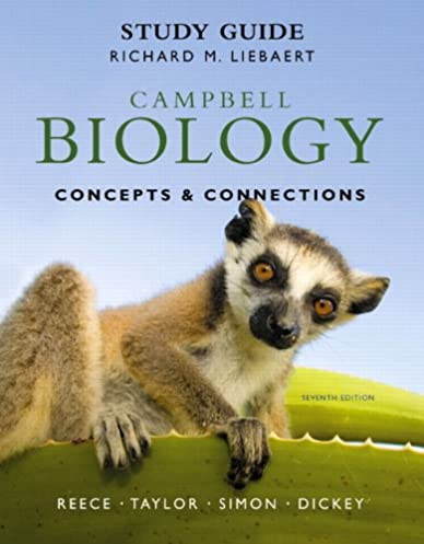 amazon com study guide for campbell biology concepts connections rh amazon com Campbell Biology 9th Edition Campbell Biology 9th Edition