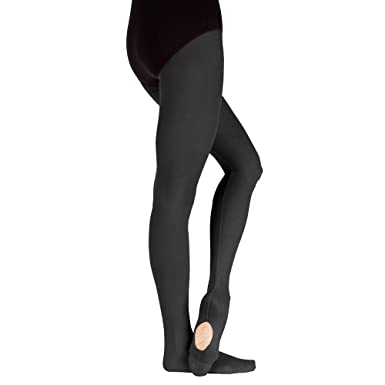7e48f1e3e79981 Body Wrappers Sheer Weight Mesh Backseam Convertible Tights at Amazon  Women's Clothing store: