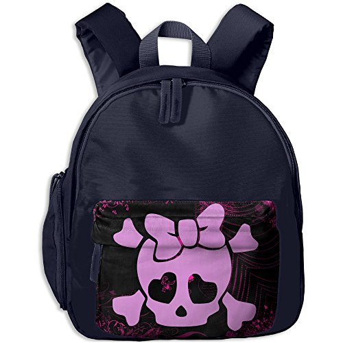 Girlie Skull Future Star Children Casual Lightweight School Bookbags Be Suitable For Summer Camp|Travel For An Outing|Camping At The Picnic|Outdoor Learning