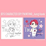 I LOVE PAINTING BTS Character Official DIY