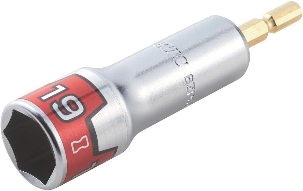 京都機械工具(KTC) ソケットビット 難攻不落 19mm BZP63-19 18Vインパクトドライバー対応