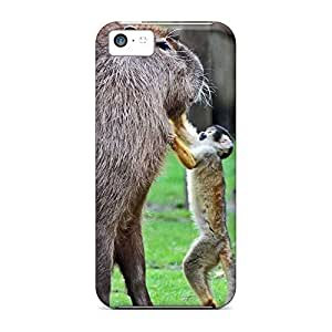 Anti-scratch mobile phone back case pictures covers protection iphone 5s - capybara squirrel monkey