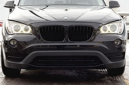 Matte Flat Black Kidney Euro Sport Front Hood Grill For Bmw E84 X1 X 1 M Suv 10 15