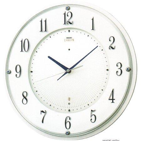 セイコー 掛け時計 SEIKO EMBLEM セイコー エムブレム 電波掛け時計 HS543W B008H9T7ZU