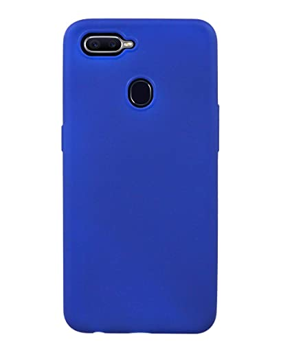 timeless design 42079 2538e COVERNEW Rubber Soft Back Cover for Oppo A5 - Royal: Amazon.in ...