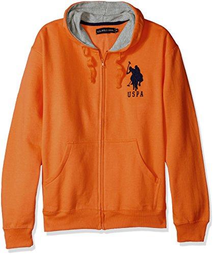 Embroidered Big Cotton Hoody Sweatshirt - 6