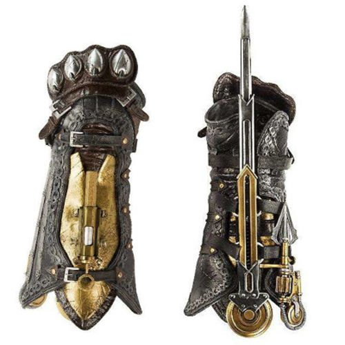 Assassin Creed 3 Costumes For Kids (Acrim Toys Assassin's Creed Syndicate Assassin's Gauntlet with Hidden Blade)