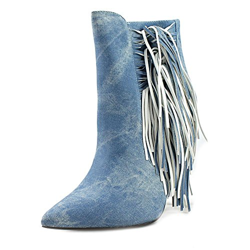 Pointed Luichiny Women Going Toe Blue Bootie Blue Denim Fast qqgP4