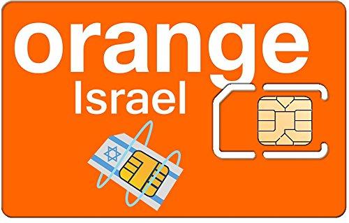 Naranja Israel Tarjeta prepago SIM Activado - Listo para su ...
