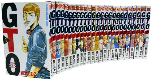 GTO 全25巻完結セット (少年マガジンコミックス)の商品画像