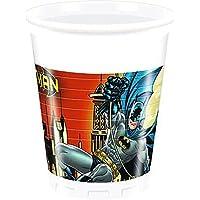 200ml Batman vasos de plástico, 8unidades)