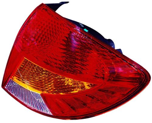 Driver side (lh) Depo 323-1909L-AS Kia Rio Driver Side Replacement Taillight Assembly