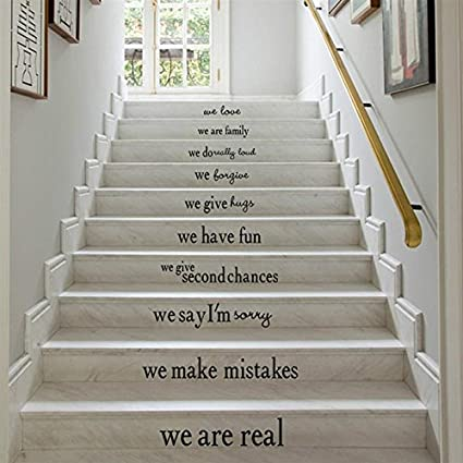 Buy Futaba Family Motto Staircase Stickers Online At Low Prices In