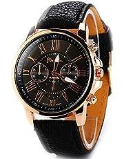 Tomshin Relógios femininos elegantes de quartzo pu couro casual relógio de pulso para senhoras relógios elegantes relógios de pulso