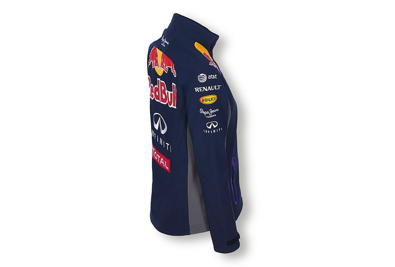Red Bull Official Team Line Softshell Chaqueta para Mujer ...