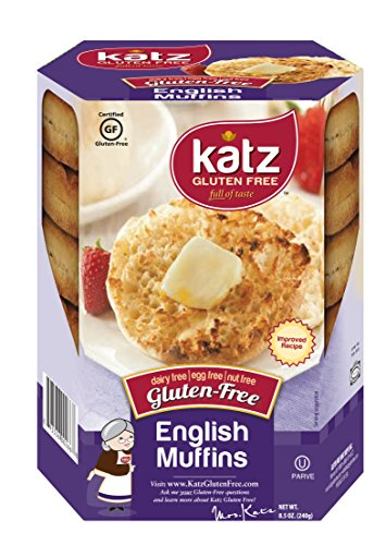 Katz Gluten Free English Muffins 8.5 Ounce (Pack of 1)