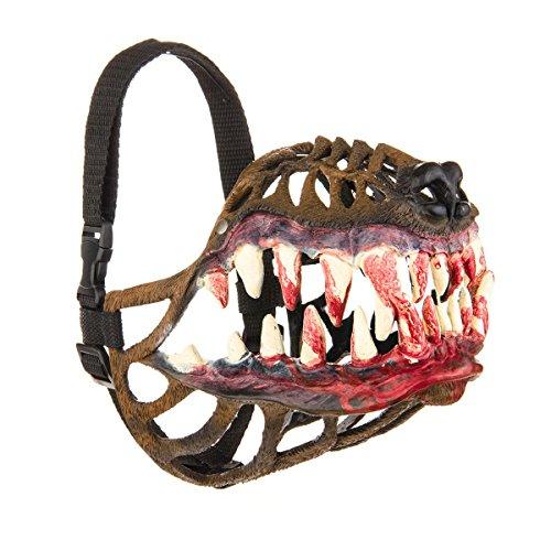 MaskMarket Werewolf Dog Muzzle for All Dog Breeds (M - 26cm) -
