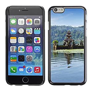 Graphic4You Indonesian Temple Postcard Design Hard Case Cover for Apple iPhone 6
