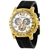Stuhrling Original Men's 234.33362 Octane Concorso Olympian Chronograph Rubber Strap Watch