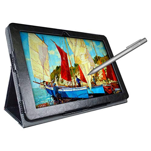 [3 Bonus Items] Simbans PicassoTab 10 Inch Drawing Tablet and Stylus Pen | 2GB, 32GB, Android 8.1 Oreo, IPS Screen | Best Gift for Beginner Graphic Artist Boy, Girl | HDMI, USB, GPS, Bluetooth, WiFi