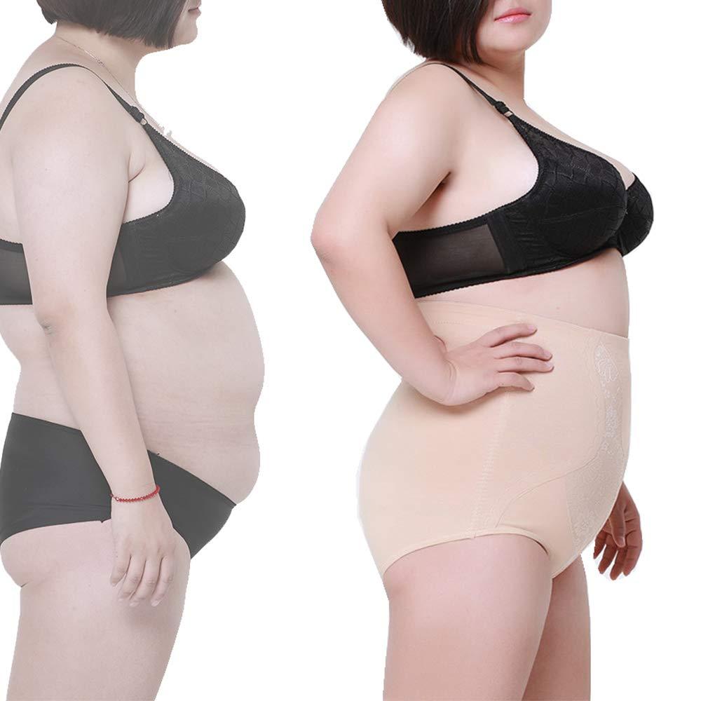 cb7243d9c88 Max shape Women s High Waist Tummy Control Silm Panty Plus Size at Amazon  Women s Clothing store