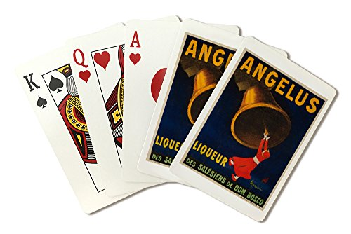 Angelus Liqueur Vintage Poster (artist: Cappiello, Leonetto) France c. 1907 (Playing Card Deck - 52 Card Poker Size with Jokers)