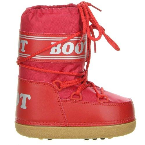 Vista Kinder Snowboots Winterstiefel rot Rot