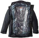 Columbia Sportswear Men's Big Lhotse II Interchange Jacket, Black/Graphite, 4X