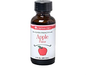 LorAnn Apple Super StrengthFlavor, 1 ounce bottle