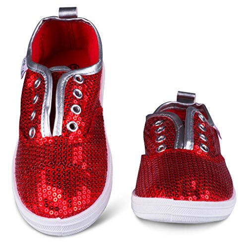 Red Sparkle Shoes Kid