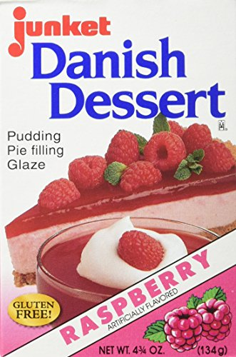 Junket Raspberry Danish Dessert, 4.75 Ounce (Pack of -