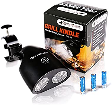 Amazon.com: Luz Grill Kindle para barbacoa con LED ...